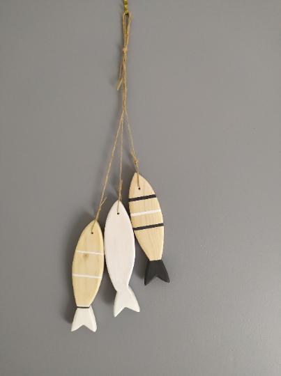 Lot poisson blanc gris